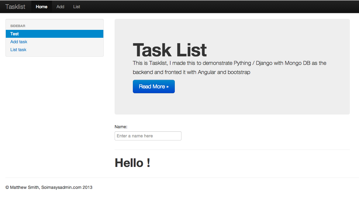 Angularjs tooltip using ui bootstrap tpls html example with demo.